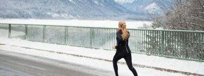 Scarpe per correre d'inverno